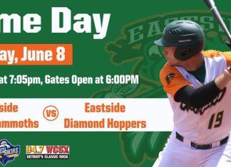 Eastside Diamond Hoppers vs Westside Woolly Mammoths on 6/8/2019