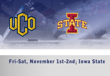 live video streaming of Men's D1 hockey UCO Bronchos vs Iowa State