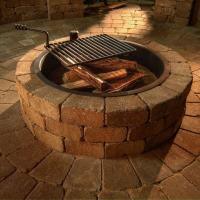 Brick Fire Pits - Golly Gee Gardening