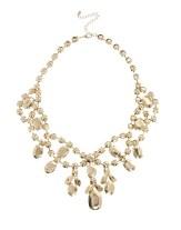 ASOS Premium Jewelled Bib Necklace