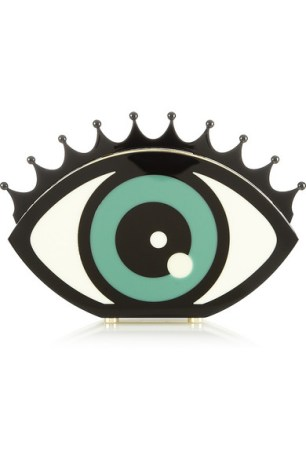 Eye Want You Perspex Clutch
