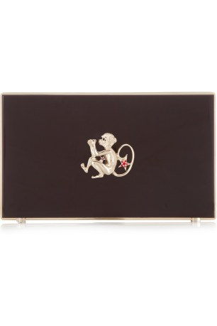 Year of the Monkey Pandora Perspex clutch