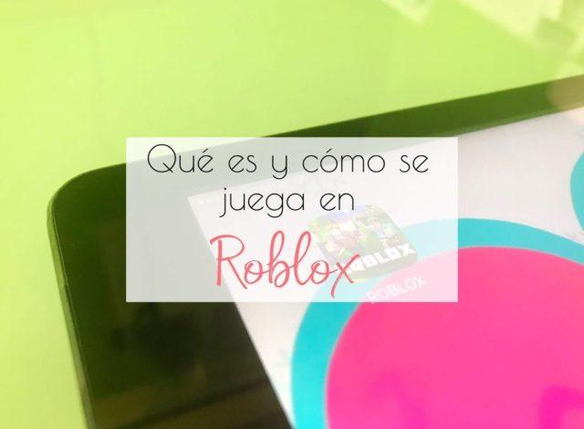 Cómo jugar a Roblox
