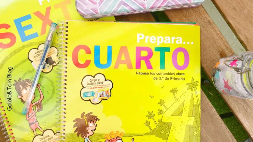 Cuadernos de vacaciones Edebé