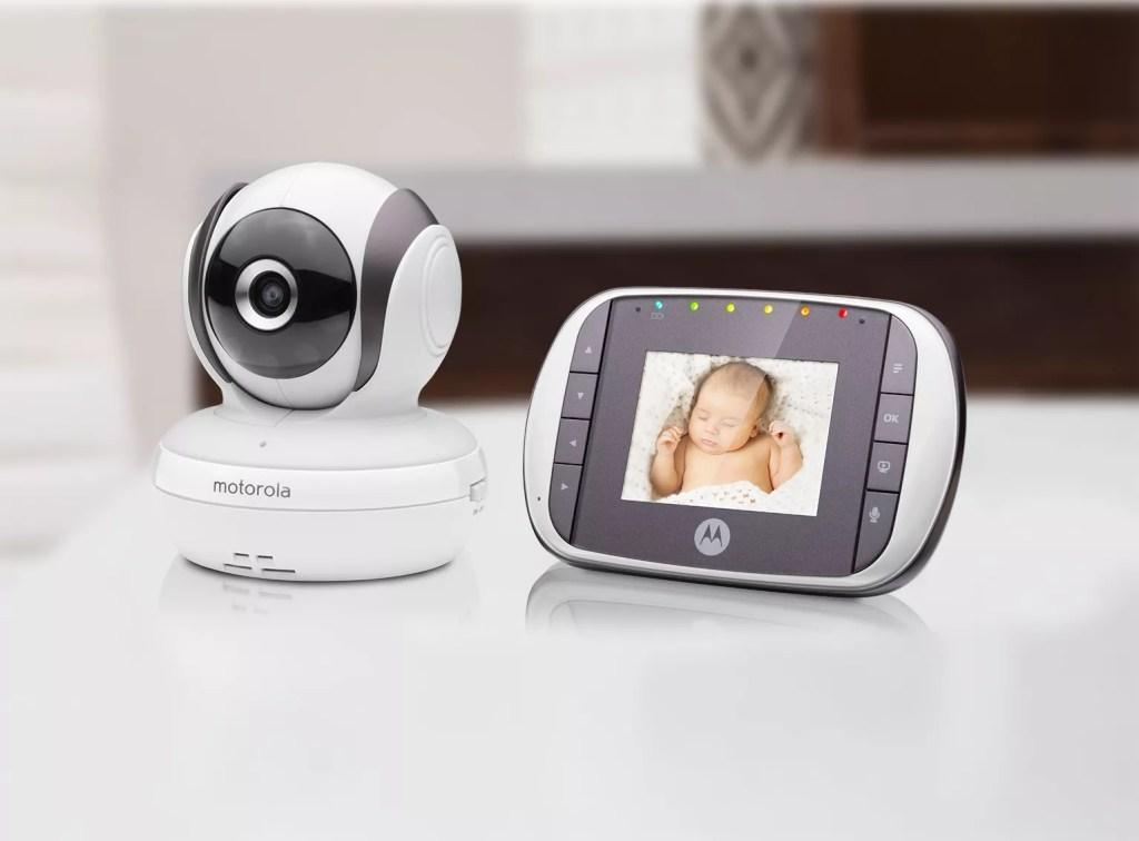 جهاز موتورولا لمراقبة الطفل عن بعد بالصوت والصورة mbp35s