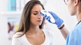 سعر جهاز قياس الحرارة عن بعد والجبهة والاذن والفم من الصيدلية