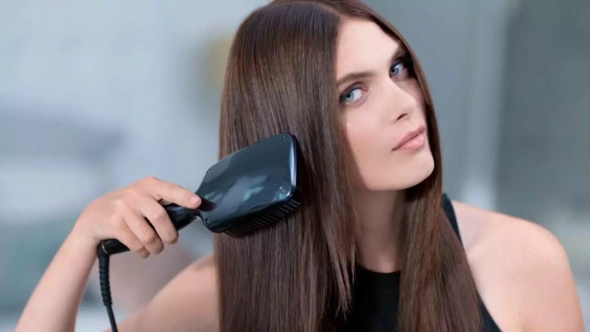 كيفية استخدام فرشاة الشعر الكهربائية