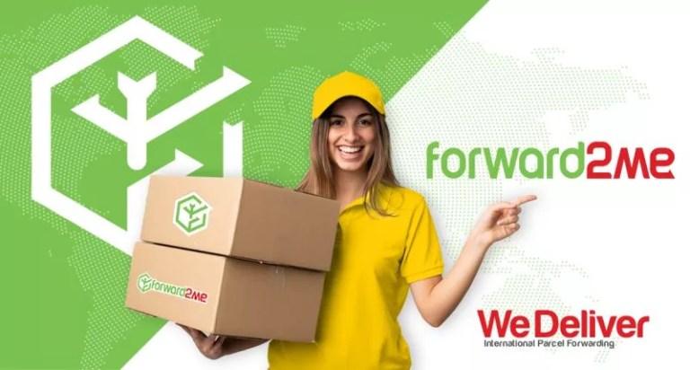 شركة الشحن forward2me