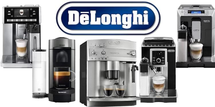 افضل ماكينة قهوة اسبريسو وكبتشينو ديلونجي