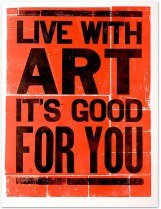 Live with art!