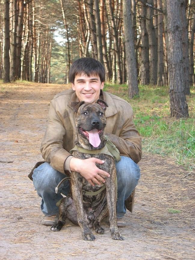 Голосний та собака
