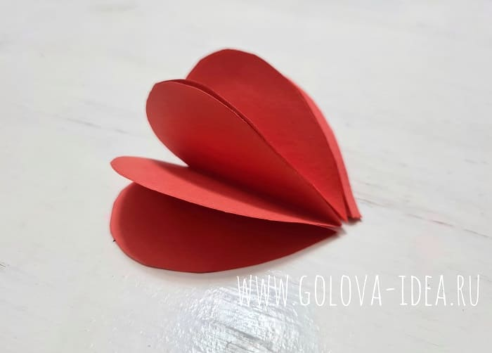 валентинка своими руками на день Валентина