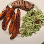 BroccoliSlaw_SweetPotatoFries