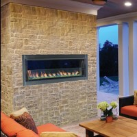 Outdoor Contemporary Linear Fireplace Systems Superior 43 ...