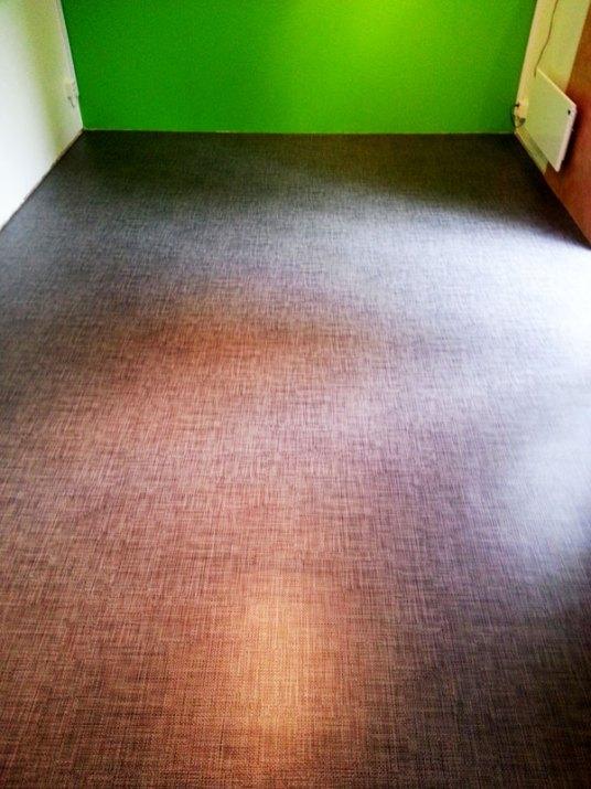 Tweed vinylmatta