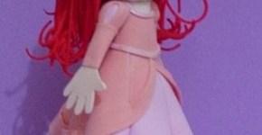 Moldes de fofucha Ariel