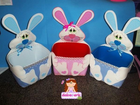 Cesta Conejo de Pascuas