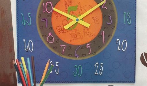 reloj  Todo en Goma Eva