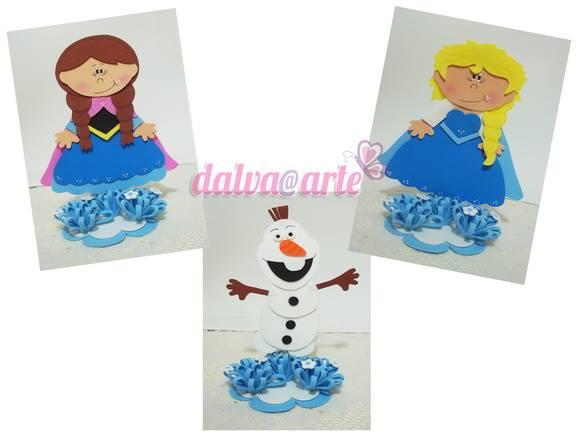 Frozen en goma eva 1
