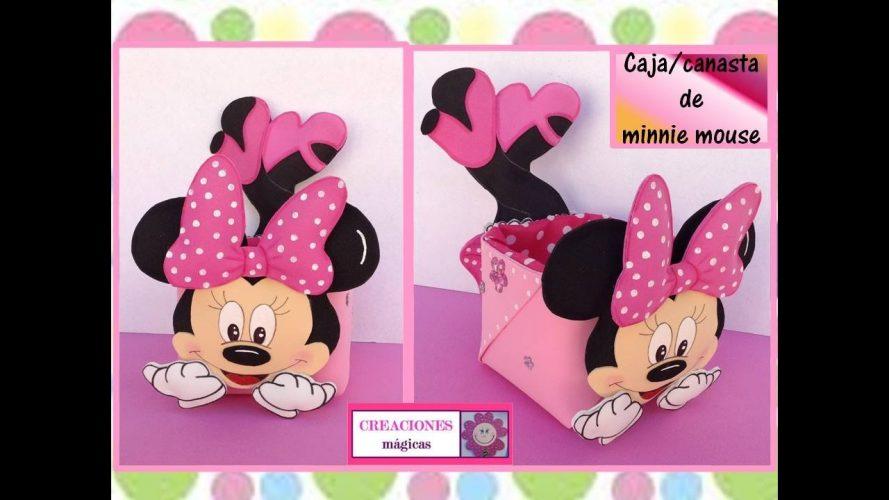 Mouse Como De Centro Mesa De Hacer Minnie Un