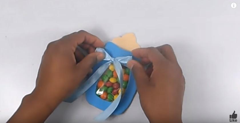 Biberón En Goma Eva Para Baby Shower Manualidades En Goma Eva Y Foami