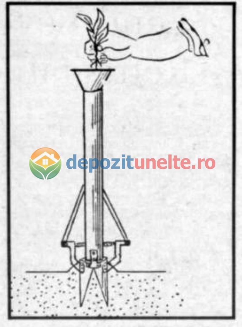 Plantator rasaduri manual semanatoare pentru rasaduri si