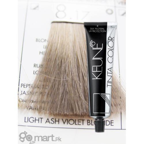 Keune Tinta Color Light Ash Violet Blonde 817 Hair