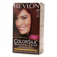 Revlon Colorsilk Hair Color Dye - Auburn Brown 49 - Hair ...