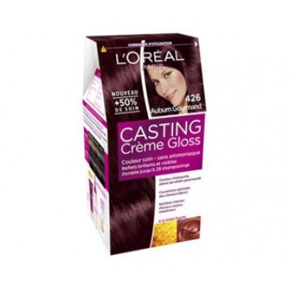 loreal paris casting creme gloss 426 anburn hair color dye gomart