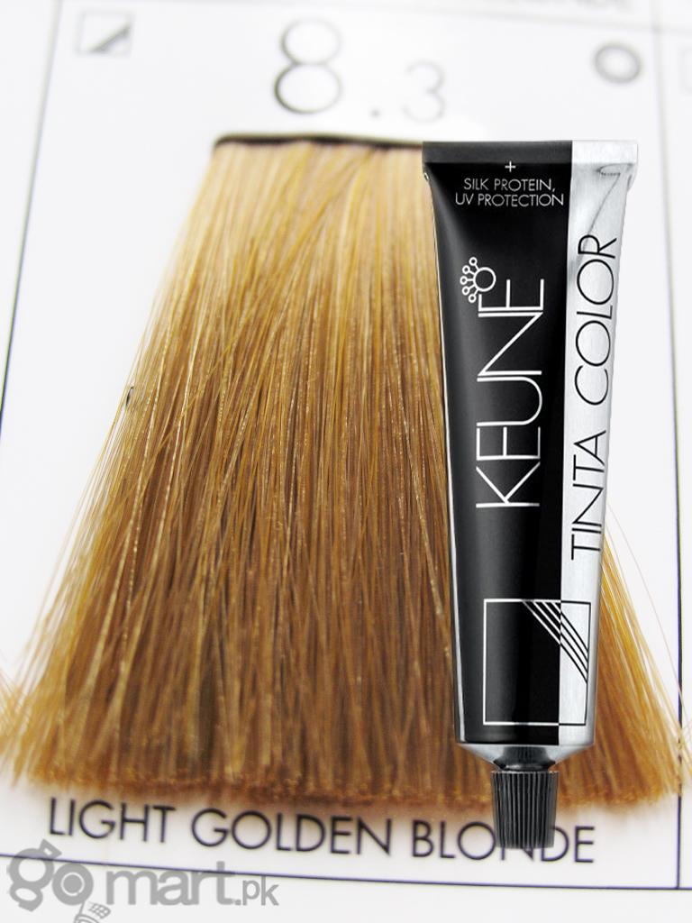 Keune Tinta Color Light Golden Blonde 83 Hair Color
