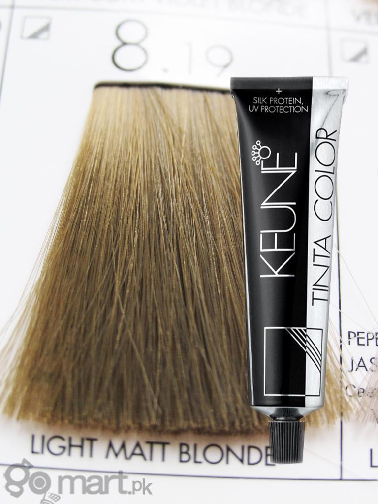 Keune Tinta Color Light Matt Blonde 819 Hair Color