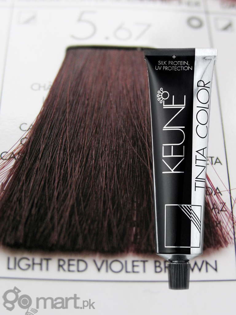 Keune Tinta Color Light Red Violet Brown 567  Hair Color