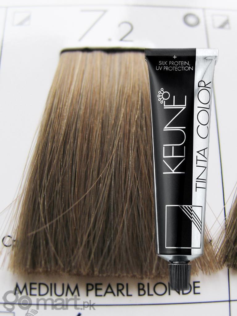 Keune Tinta Color Medium Pearl Blonde 72 Hair Color