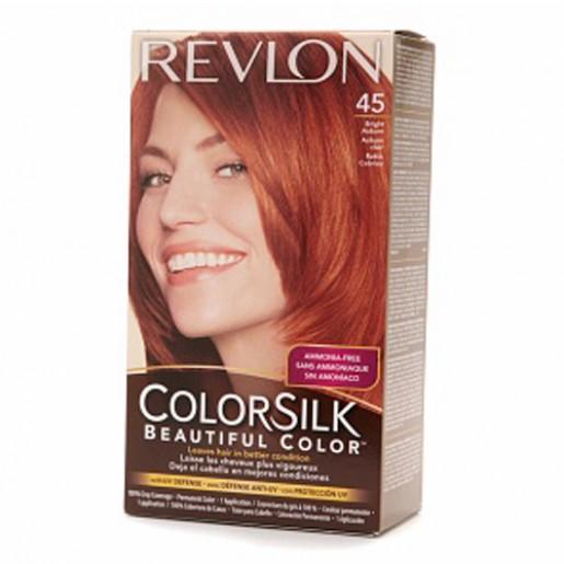 Revlon Colorsilk Hair Color Dye Bright Auburn 45 Hair
