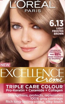 Loreal Excellence Creme 613 Light Frosted Brown Hair