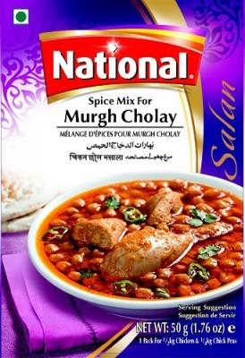 National Murgh Cholay Masala Mix 50gms Spices Gomartpk