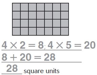 Go Math Grade 3 Answer Key Chapter 11 Perimeter and Area Area of Combined Rectangles img 66