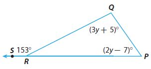 Go Math Grade 8 Answer Key Chapter 11 Angle Relationships in Parallel Lines and Triangles Lesson 2: Angle Theorems for Triangles img 16