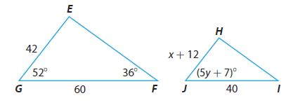 Go Math Grade 8 Answer Key Chapter 11 Angle Relationships in Parallel Lines and Triangles Model Quiz img 28