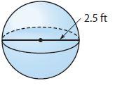 Go Math Grade 8 Answer Key Chapter 13 Volume Lesson 3: Volume of Spheres img 17