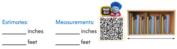 2nd Grade Go Math Answer Key Chapter 8 Length in Customary Units 8.6 9