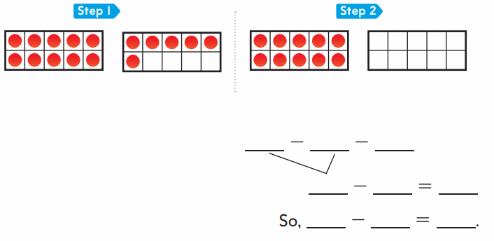 Go Math 1st Grade Answer Key Chapter 4 Subtraction Strategies 105
