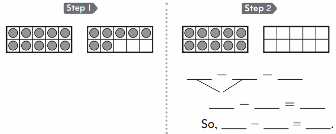 Go Math 1st Grade Answer Key Chapter 4 Subtraction Strategies 109