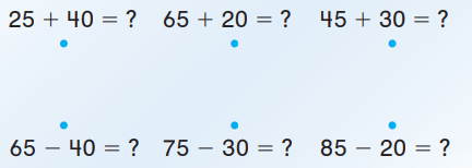 Go Math Answer Key Grade 1 Chapter 8 Two-Digit Addition and Subtraction 8.9 6