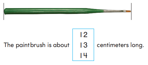 Go Math Answer Key Grade 2 Chapter 9 Length in Metric Units rt 8