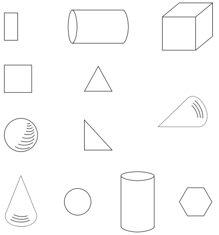Go Math Answer Key Grade K Chapter 10 Identify and Describe Three-Dimensional Shapes 10.6 4