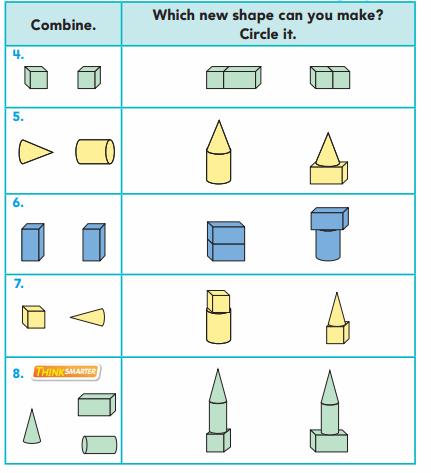 Go Math Grade 1 Answer Key Chapter 11 Three-Dimensional Geometry 48