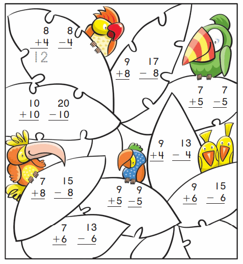 Go Math Grade 1 Answer Key Chapter 5 Addition and Subtraction Relationships 49