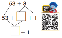Go Math Grade 1 Chapter 8 Answer Key Pdf Two-Digit Addition and Subtraction 8.6 5