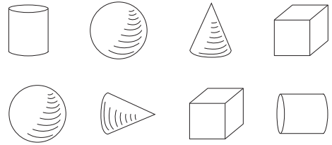 Go Math Grade K Answer Key Chapter 10 Identify and Describe Three-Dimensional Shapes 10.2 3